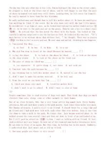 英语阅读29175