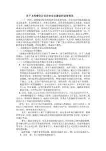 关于上海捷安公司企业文化建设的调查报告