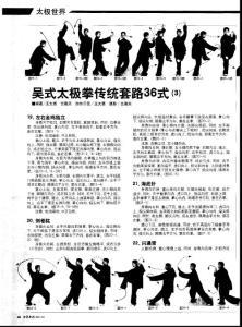 (论文)吴式太极拳传统套路36式(3)