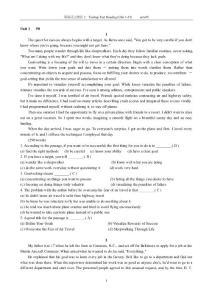 英语泛读教程2 快速阅读