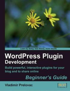 WordPress Plugin Devel..