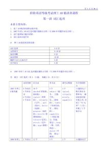 2012年职称英语考试  词汇表 最新完整版