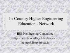In-County Higher Education Net