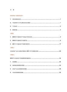 2011年最新房地产政策评估报告:2010年度中国房地产政策评估报告