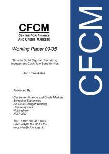 CFCM - University of N..