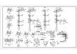 某钢筋混凝土三角形屋架厂房结构设计施工图