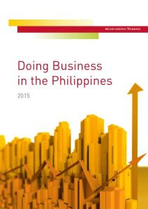 Doing Business in the Philippines - Baker McKenzie