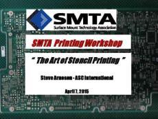 Solder Paste Inspection - SMTA