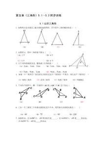 第五章 三角形(5...