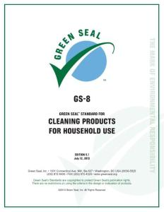 GS-8 Green Seal Standard for Cleaning Products for ...