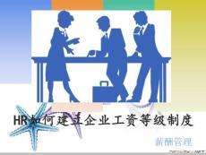 HR薪酬管理之工资等级制度.PPT