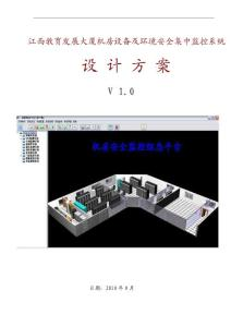 TA 机房监控标准方案1.0