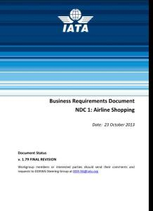 Business Requirements Document Template - IATA