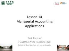 基础会计学-英文ppt-lesson14-en