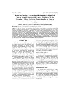 Reducing Teachers Instr..
