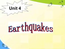 b1 u 4 earthquakes warming up and reading课件(共