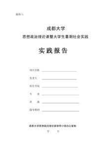 社会实践报告格式及规范要求