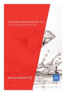 bain diamond report 2016贝恩咨询:2016年全球钻石行业报告