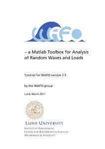 分析随机波形与负载的Matlab工具箱
