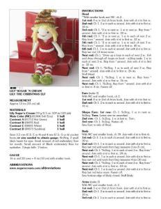 钩针玩偶-莉莉娃娃(3)