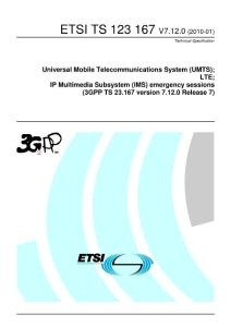 IP多媒体子系统(IMS)国际标准