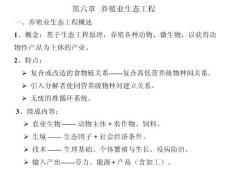 生态工程学(王赞红)第六章 养殖业e