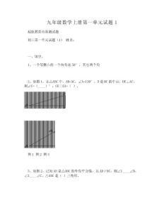 [DOC]-九年级数学上册第一..