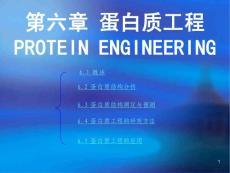 第四章蛋白质工程protein engineering