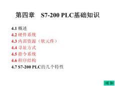 第4章更改PLC硬件