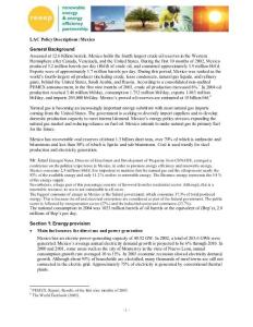 LAC Policy Description..