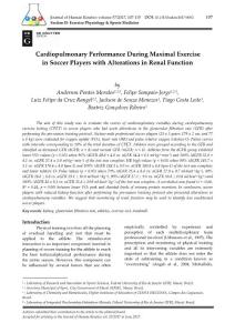 cardiopulmonary performance during maximal exercise in soccer players with alterations in renal function.[2017][j hum kinet][10.1515hukin-2017-0052