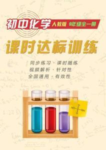 初中化学同步训练人教9年级全一册:第一单元 走进化学世界