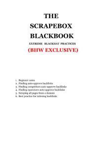 Scrapebox中文教程