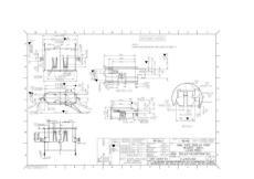 USB接口产品图进模图纸