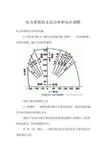 电力系统的无功功率和电压..