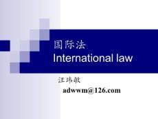 导论与国际法上的国家