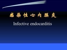 内科学精品教学课件(时国朝)11 感染性心内膜炎