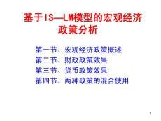 宏观经济政策分析_PPT课件