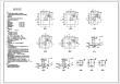 青岛一物流园区2乘18米跨度钢结构厂房结构施工图纸