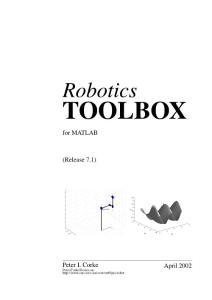 Robotics_TOOLBOX(机器人工具箱)