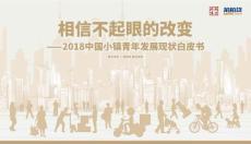2018中国小镇青年发展现状白皮书