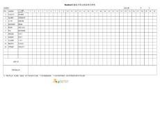 BUSBAR焊接机日常点检保养记录表