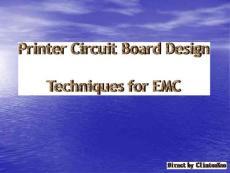 PCB Design Techniques for EMC
