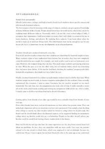 托福写作可以模仿的段落和范文