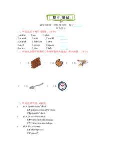 最新陕旅版小学英语五年级上册期中检测试题及答案(附MP3听力录音)