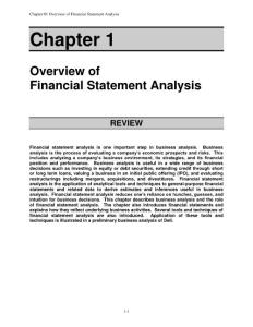 Financial statement analysis (tenth edition) solution for Ch_01