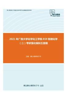 2021年广西大学化学化工学院859物理化学(二)考研强化模拟五套题