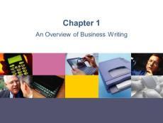 商务英语写作第一章
