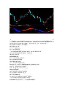 文华财经指标公式期货软件指标公式赢顺云指标趋势判断指标