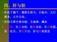 中医养生保健学第三章脏腑ppt课件